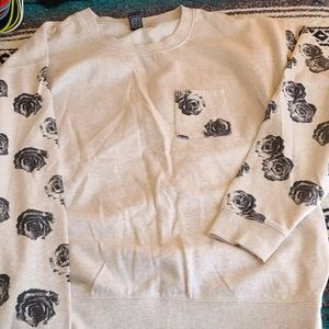 Soft Crew Neck Sweatshirt